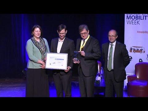 euronews (in Italiano): European Mobility Week 2017: primo premio a Vienna, Igoumenitza e Turda