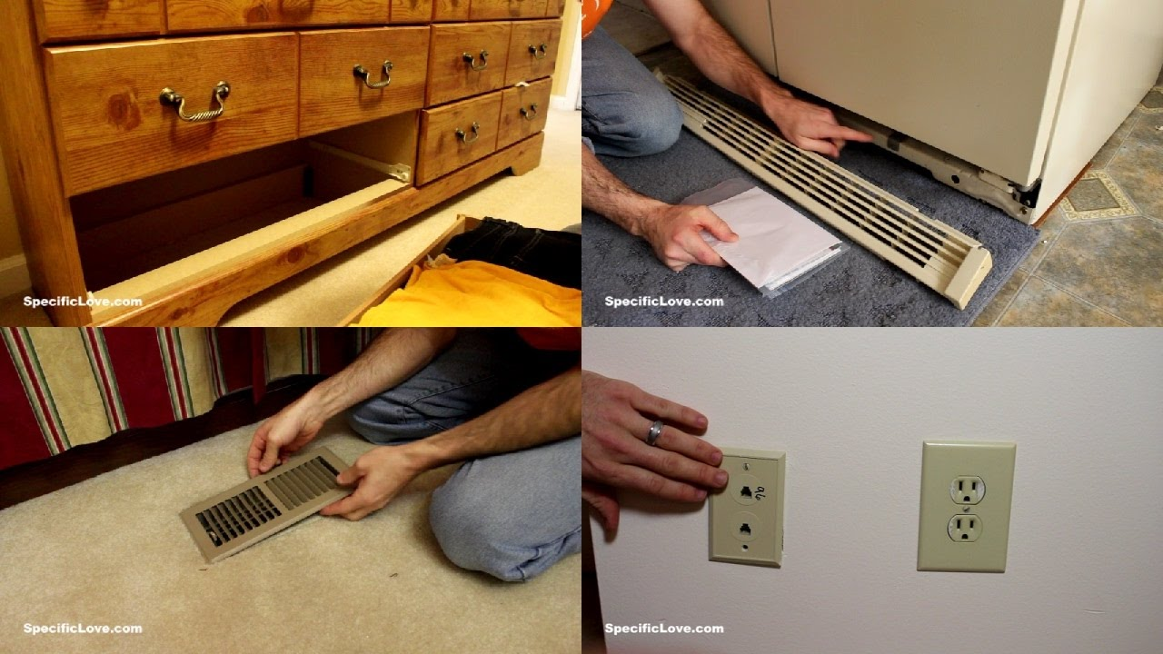 10 Secret Hiding Places Already In Your Home Youtube