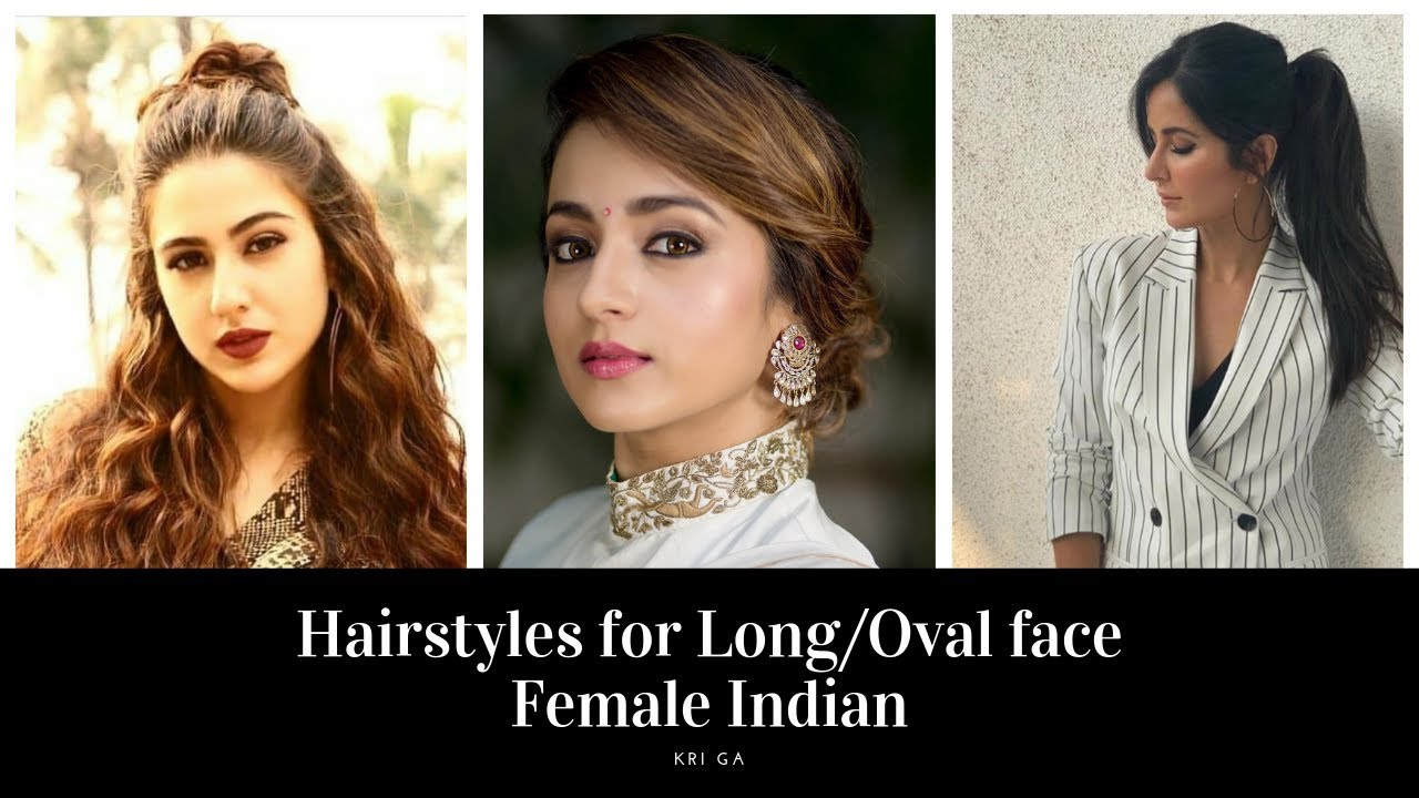 Hairstyles For Long Oval Face Female Indian Easy Hairstyles For Long Oval Face Shape Kri Ga Youtube