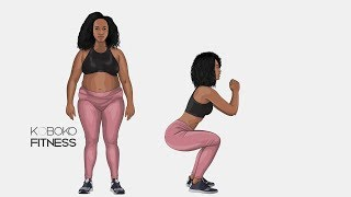 Very QUICK Butt, Thigh, & Inner Thigh Workout