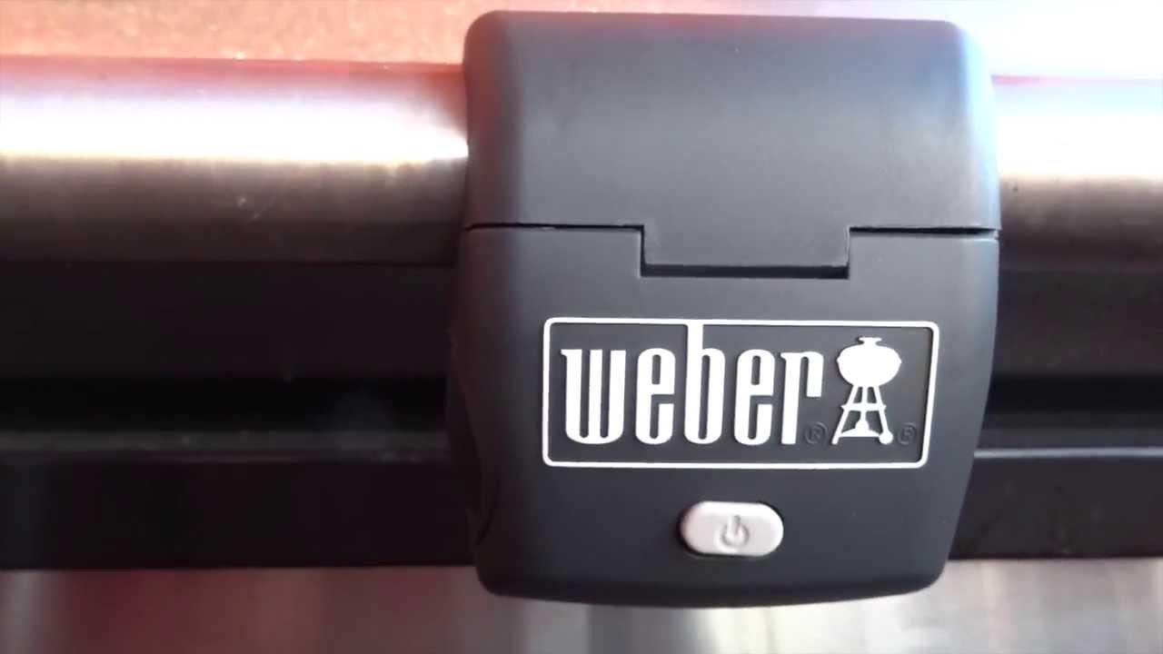 weber grill lampe