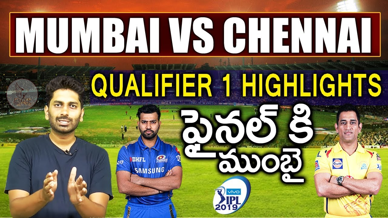 Mumbai Indians VS Chennai Super Kings Qualifier 1 Highlights || Eagle Sports