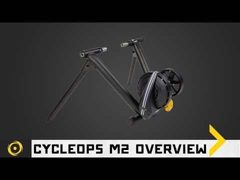 CycleOps M2 Wheel on Interactive Cycling Trainer