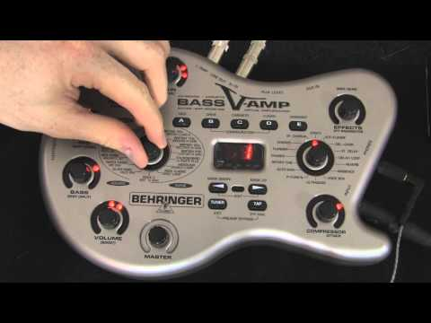 Behringer Bass V-Amp Review / Demo