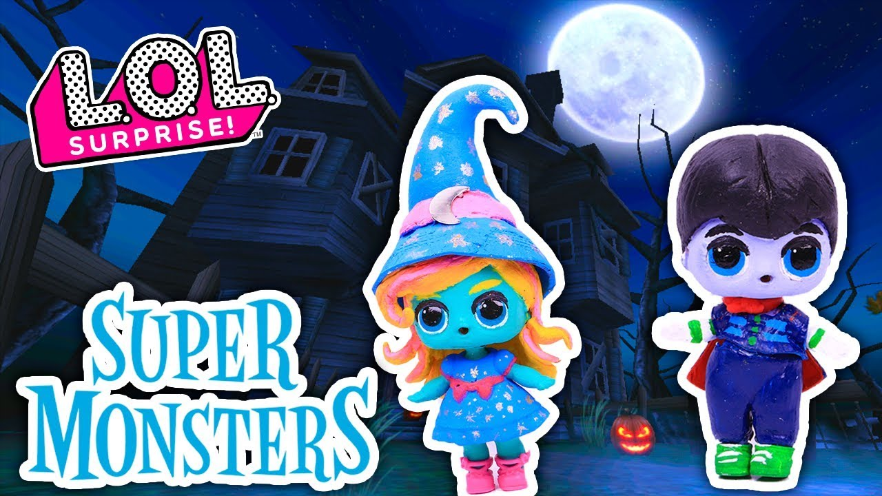 SUPER MONSTERS Toys 🧙Katya & Drac 🧛 from NETFLIX Custom ...