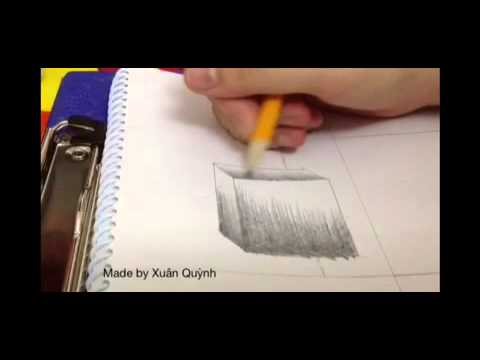 MY FIRST VIDEO : Cube Value Shading