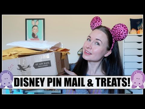DISNEY PIN MAIL! Animal Kingdom 20th Anniversary, chocolates & more! | April 2018, Part 3