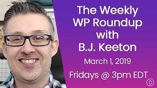 الأسبوعية WP تقرير اخبارى مع B. J. كيتون (1 مارس 2019)