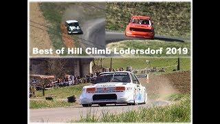 Hill Climb Lödersdorf 2019 Best of Action and Mistakes