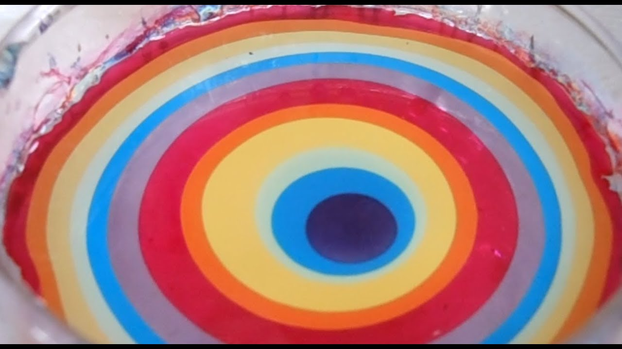 3 pretty color combinations for water marble - youtube