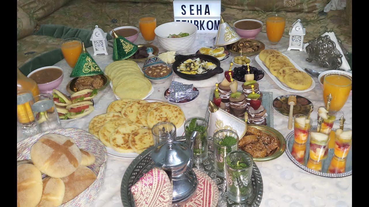 Ftour Fassi فطور فاسي مغربي فطور بلدي بوصفات سهلة و بسيطة Youtube