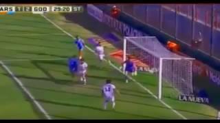 Gol de Sanchez Sotelo - Arsenal 1 - 2 GodoyCruz - Torneo de Argentina 2017