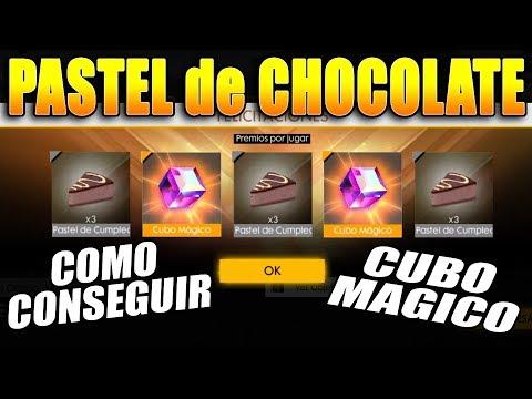 COMO CONSEGUIR TODOS los *PASTELES de CHOCOLATE* en FREE FIRE // HORARIO OFICIAL del CUBO MAGICO