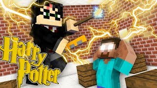 Monster School : HARRY POTTER MAGIC HOGWARTS CHALLENGE - Minecraft Animation