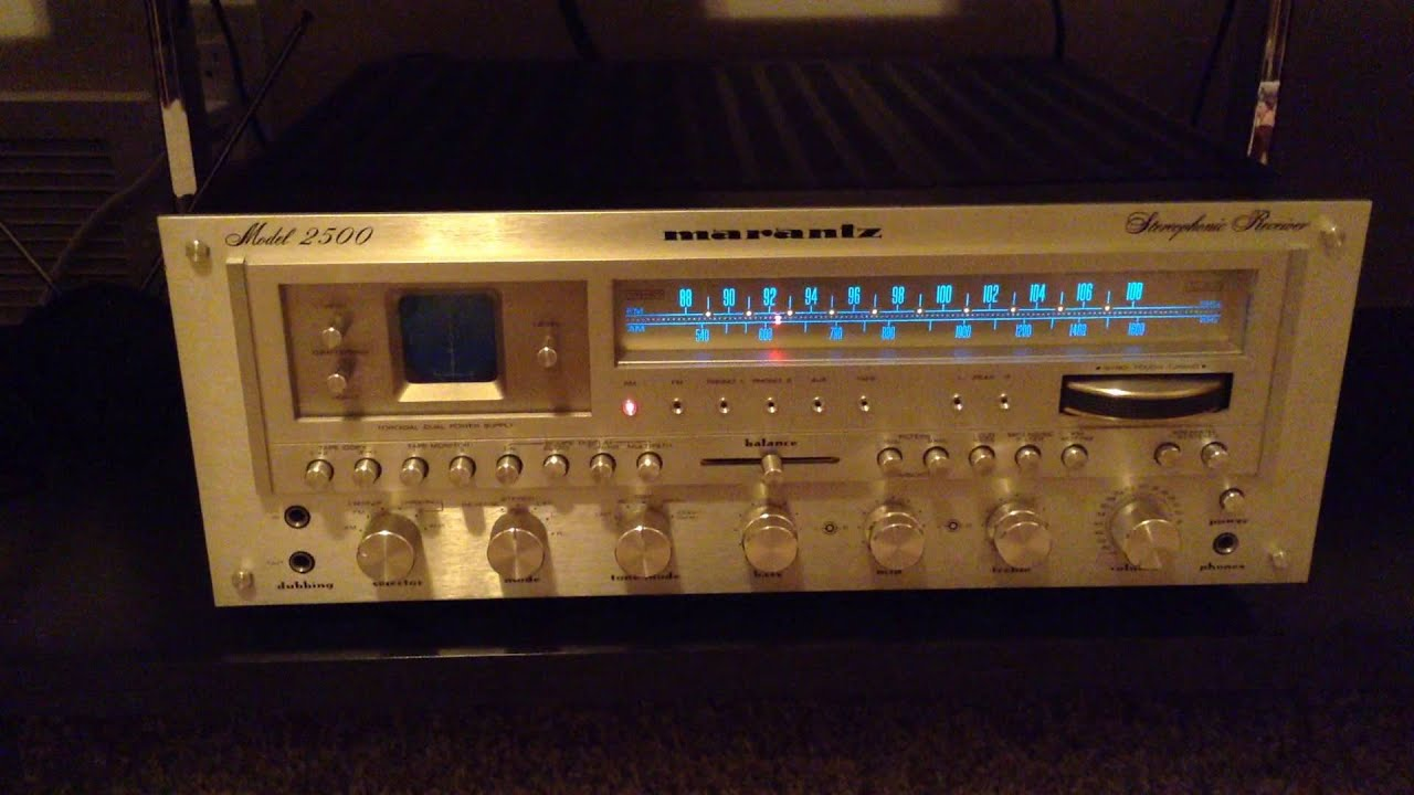 Vintage Marantz 2500 Stereo System