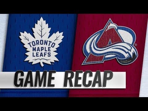 Kadri, Kapanen, Matthews power Maple Leafs to 5-2 win