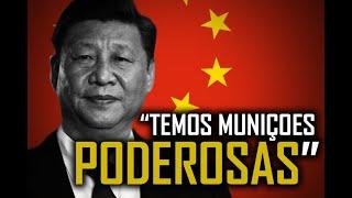 CHINA avisa TEMOS MUNIÇÕES PODEROSAS (Felipe Dideus)
