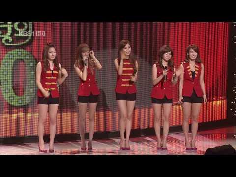 [090719]SNSD - Dancing Queen + Tell Me Your Wish (Genie) [KBS1 Open Concert]