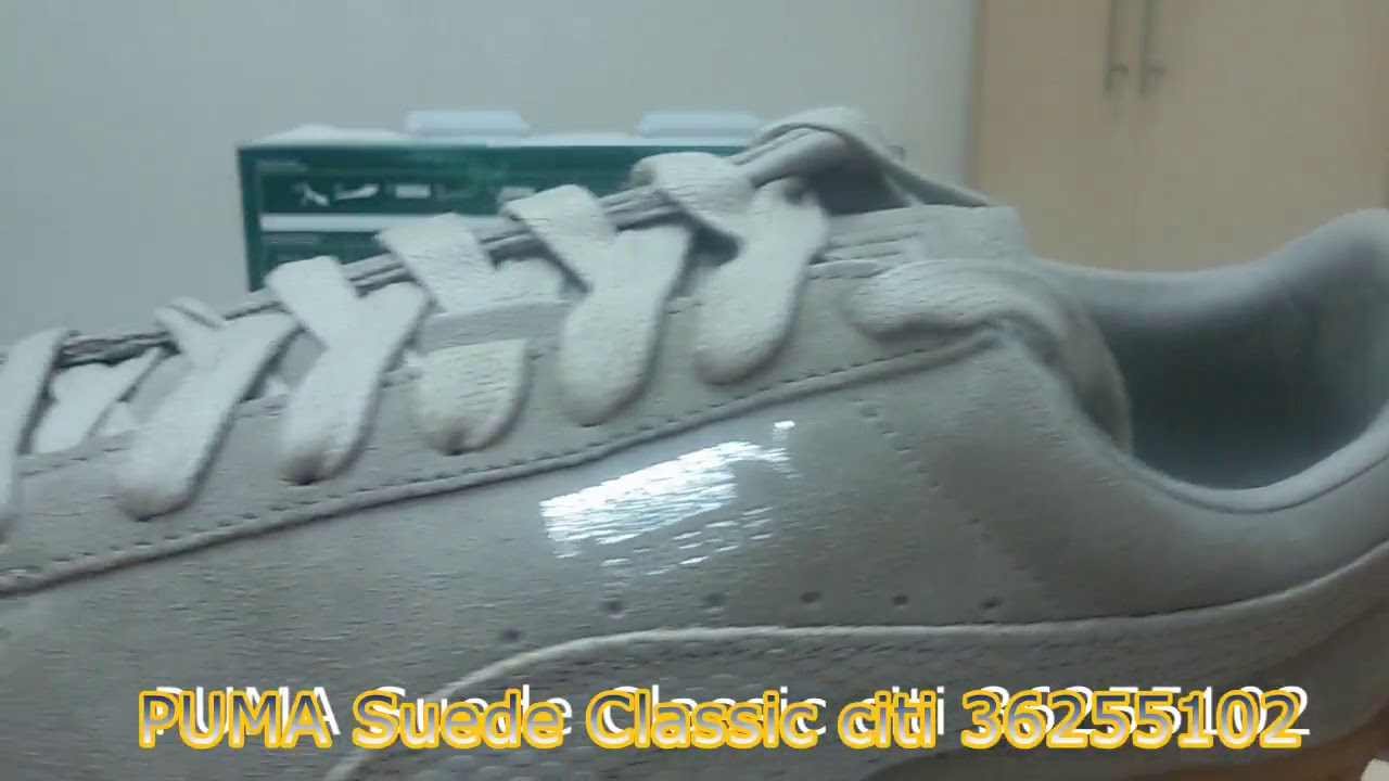 3e626e096dd74 Unboxing Review sneakers PUMA Suede Classic citi 36255102 - YouTube