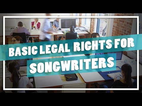 Tunedly workshop with Wallace Collins ⇾ Basic Legal Rights for Songwriters