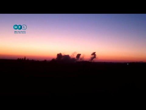 شاهد: غارة جوية على قرية جلين جنوب غرب سوريا  - نشر قبل 22 دقيقة