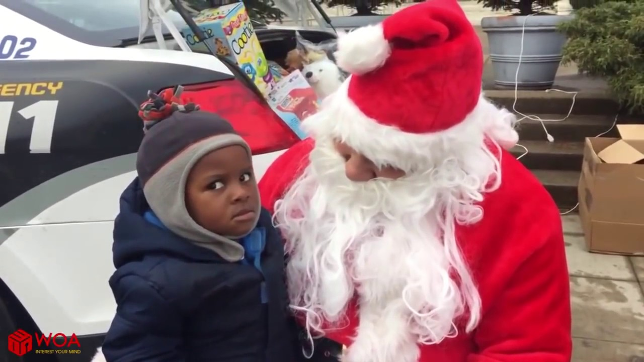 Babies And Kids Meet Santa For The First Time || Best Babies Video Compilation