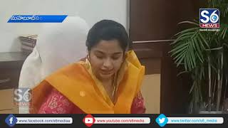 Wanaparthy Collector Swetha Mahanthi Press Meet Due To Elections || S6 Media
