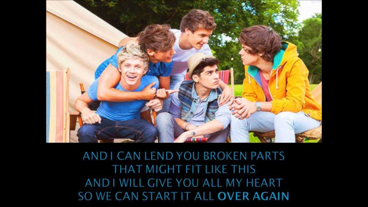One Direction - Over Again (lyrics) - YouTubeOne Direction Over Again