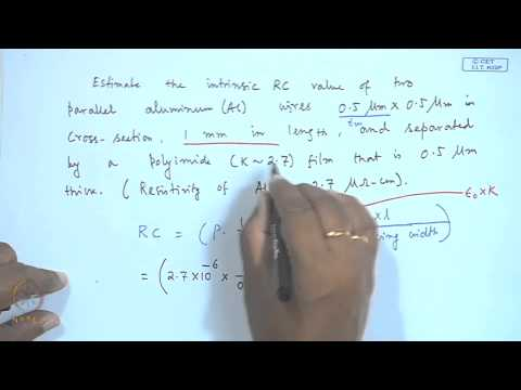 Mod-01 Lec-38 Low - K and High - K materials