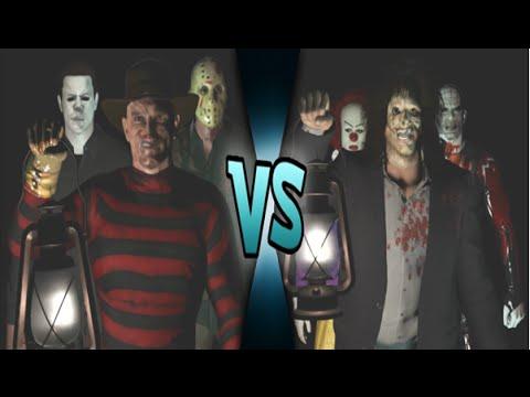 Freddy Vs Jason Vs Chucky Vs Michael Myers Vs Pinhead Jason Voorhees, Michae...