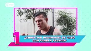¿Christian Domínguez y Pamela Franco se casaron?