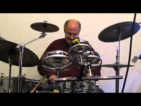 Funk and Groove Drum Solo Chris Mauro Garrett Park 2014