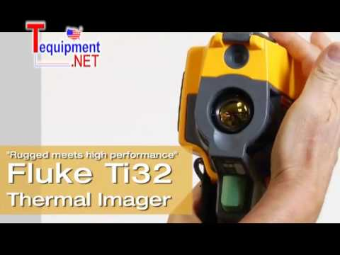 Fluke Ti32 Industrial-Commercial Thermal Imager Thermography