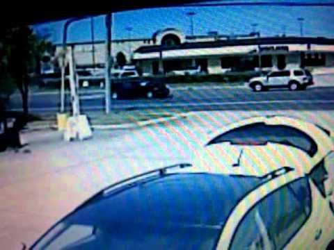 Car Wreck Caught on Security Cam in VA BEACH