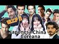 Coreana, China Y Japonesa reaccionan a los famosos Latinos y Españoles