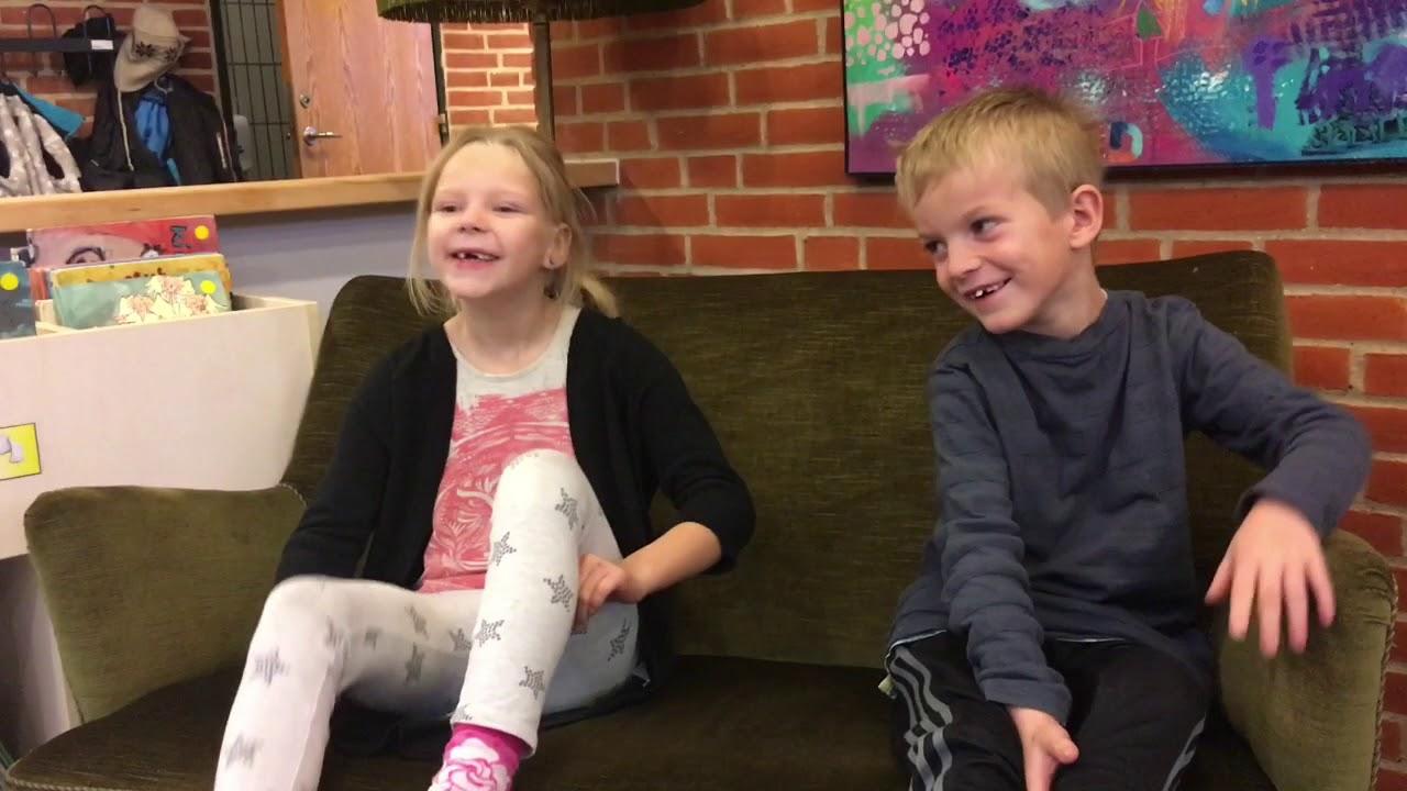 Selma Og Lucas Fortæller Om Kunsten 59 Sekunder