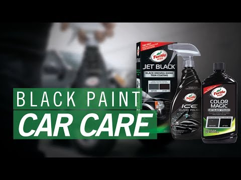 How To Care For Black Car Paint | Turtle Wax