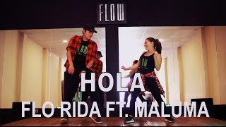 Hola - Flo Rida Feat. Maluma - Zumba - Flow Dance Fitness