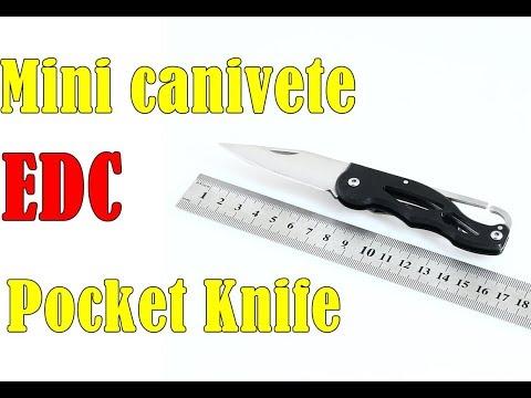 Mini Canivete EDC Pocket Knife 🔪