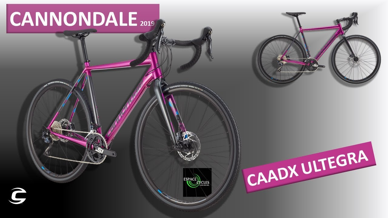 04a18395df9 CANNONDALE CAADX ULTEGRA - 2019 - YouTube