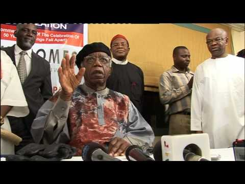 Prof. Chinua Achebe: A hero returns 1 (BBC)