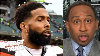 Odell Beckham Jr. should be worried about his reputation in the NFL - Stephen A. | First Take