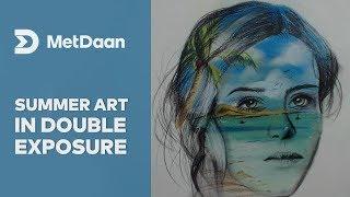 Summer on my mind - double exposure | MET DAAN