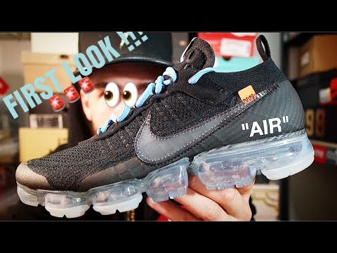 UNRELEASED OFF-WHITE NIKE VAPORMAX(PART 2)REVIEW!!!FIRST REVIEW ON YOUTUBE! c5de01124296