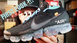 HYPEBEAST PICK UP!!!UNRELEASED OFF-WHITE NIKE VAPORMAX(PART 2)REVIEW!!!FIRST REVIEW ON YOUTUBE!!!!