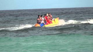 BANANA BOAT RIDE..AWESOME! Part1