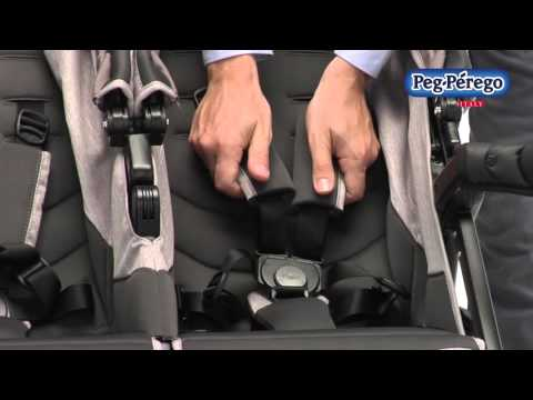 Compact Double Stroller - Book for Two by Peg Perego