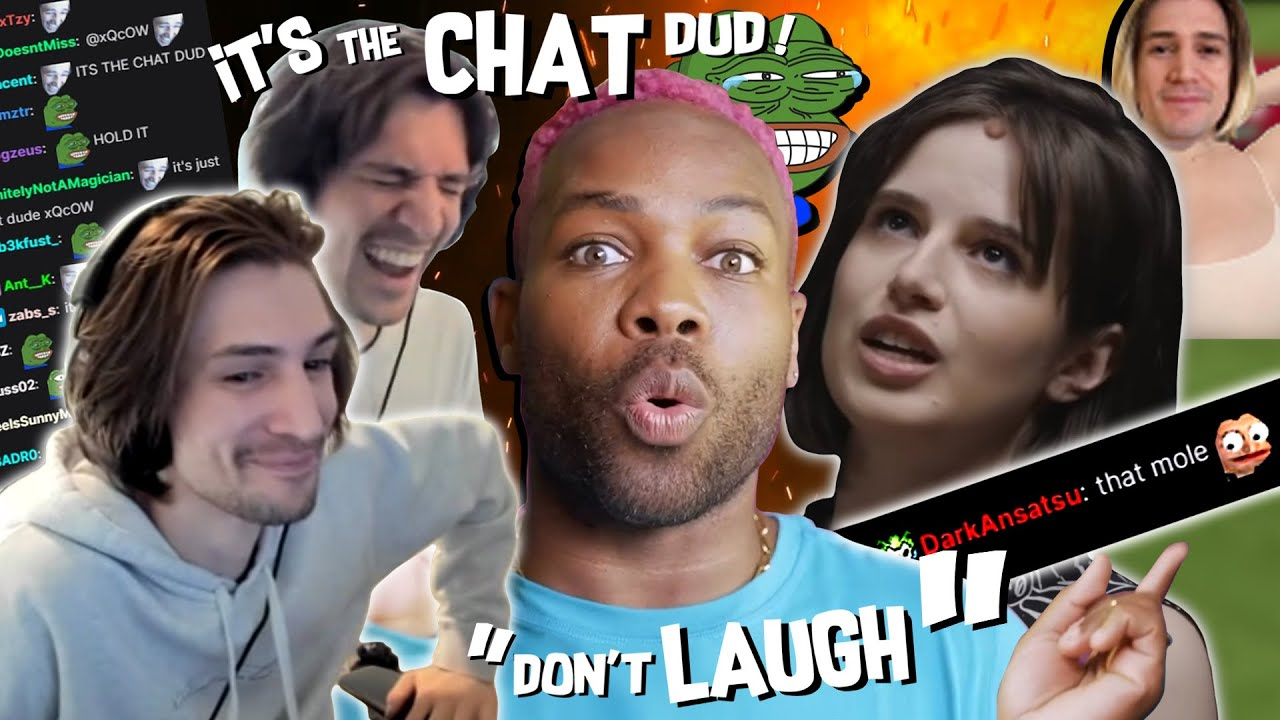 IT'S THE CHAT DÜD - When Chat made xQc ACTUALLY Laugh!