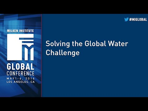 Solving the Global Water Challenge