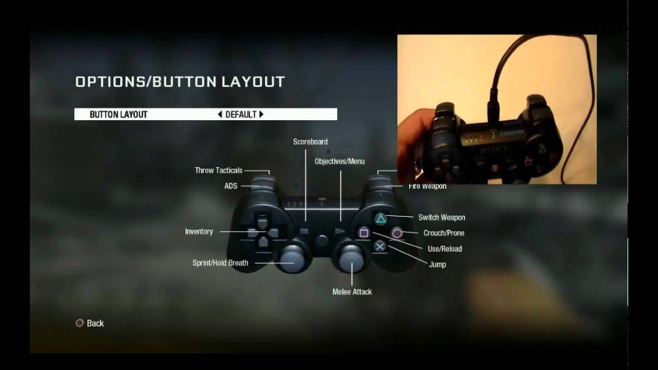 ps3 button configuration